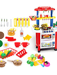 cheap -beiens Kids' Cooking Appliance LED Lighting Sound ABS Kid's Girls' Toy Gift 30 pcs