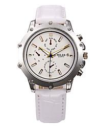 Недорогие -Муж. Наручные часы Часы со скелетом Нарядные часы Модные часы Спортивные часы Кварцевый Горячая распродажа Натуральная кожа Группа Кулоны