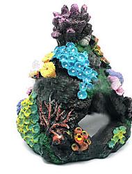 cheap -Fish Tank Aquarium Decoration Ornament Coral Jellyfish Non-toxic & Tasteless Resin