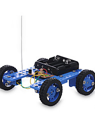 cheap -Remote Control RC Building Block Kit Toy Car Solar Powered Toy Race Car Car Remote Control / RC Novelty DIY Plastic Metal Boys' Girls' Toy Gift