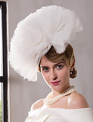 cheap -Net Kentucky Derby Hat / Fascinators / Hats with 1 Wedding / Special Occasion / Outdoor Headpiece