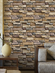 Недорогие -геометрический 3D Обои Для дома Современный Облицовка стен , ПВХ/винил материал Самоклейки обои , Обои для дома