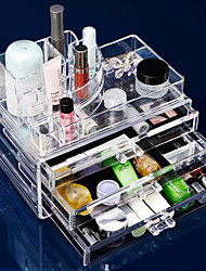 cheap -Makeup Tools Makeup Cosmetics Storage Makeup Acrylic Classic Daily Daily Makeup Cosmetic Grooming Supplies