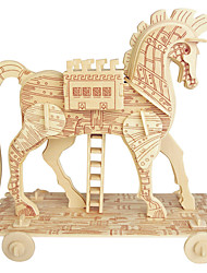 cheap -Wooden Puzzle Horse Professional Level Wooden 1 pcs Boys' Gift