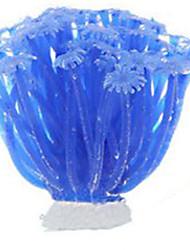 cheap -Aquarium Decoration Coral Non-toxic & Tasteless Silicone