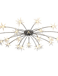 cheap -105 cm Mini Style / Designers Chandelier Metal Chrome Modern Contemporary 110-120V / 220-240V / G4 / 4-pin