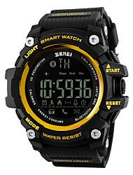 cheap -SKMEI Men's Women's Sport Watch Smartwatch Wrist Watch Digital Rubber Black / Red 30 m Water Resistant / Waterproof Alarm Calendar / date / day Digital Luxury - Yellow Red Blue / Remote Control / RC
