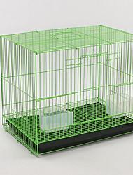 Недорогие -Кролики Клетки Водонепроницаемый Металл Зеленый