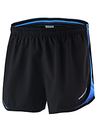 cheap -Arsuxeo Men's Running Shorts Mesh Sports Shorts Fitness Gym Workout Training Bodybuilding Athletic Exercise Breathable Quick Dry Soft Plus Size Red / black Black / Yellow Black / Blue Black+Gray