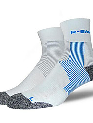 cheap -Compression Socks Athletic Sports Socks Running Socks Men's Tube Socks Socks Breathable Wearable Compression Sweat-wicking Comfortable Running Camping / Hiking Fishing Exercise & Fitness Leisure