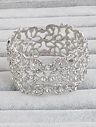 cheap -Cuff Bracelet Vintage Alloy Bracelet Jewelry Silver For Party Special Occasion Birthday