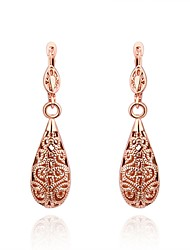 cheap -Drop Earrings Drop Ladies Rose Gold Silver Plated Gold Plated Earrings Jewelry Gold / Silver / Rose Gold For Daily Casual / Rose Gold Plated / Rose Gold Plated