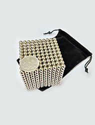 cheap -1000 pcs 5mm Magnet Toy Magnetic Balls Building Blocks Super Strong Rare-Earth Magnets Neodymium Magnet Puzzle Cube Magnet Kid's / Adults' Boys' Girls' Toy Gift