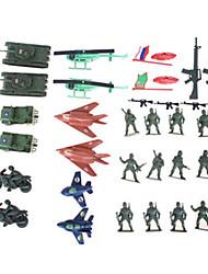 Недорогие -Экшен-фигурки Выставочные модели Модели автомобилей Оригинальные пластик 20 pcs Мальчики Подарок / Металл