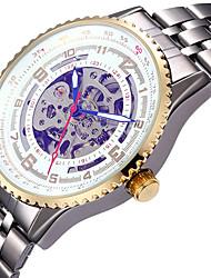Недорогие -Муж. Механические часы Наручные часы Часы со скелетом Нарядные часы Модные часы Спортивные часы С автоподзаводом Горячая распродажа сплав