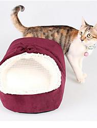 Недорогие -Кошка Собака Матрас Кровати Одеяла Однотонный Мягкий Ткань Хлопок