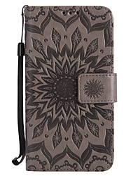 cheap -Case For Motorola Moto Z / Moto Z Force / Moto G4 Play Wallet / Card Holder / with Stand Full Body Cases Mandala Hard PU Leather