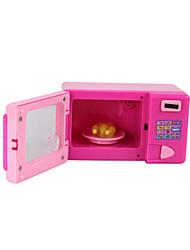 Недорогие -Игрушка кухонные наборы Ролевые игры Духовой шкаф Микроволновая печь Оригинальные Электрический пластик Игрушки Подарок