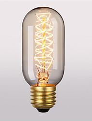 cheap -1pc 40 W E26 / E27 T45 Warm White 2300 k Retro / Decorative Incandescent Vintage Edison Light Bulb 220-240 V