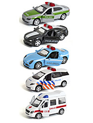 cheap -ALLOY METAL Vehicle Playset Police car Ambulance Vehicle Car Classic & Timeless Chic & Modern Boys' Girls' Toy Gift