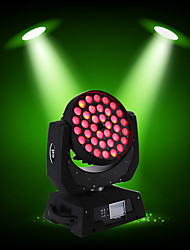 cheap -U'King Disco Lights Party Light LED Stage Light / Spot Light DMX 512 / Master-Slave / Sound-Activated 10 W Party / Stage / Wedding Professional RGB+White for Dance Party Wedding DJ Disco Show Lighting