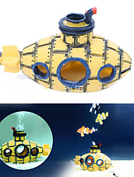cheap -Aquarium Decoration Submarine Ornament Non-toxic & Tasteless Resin