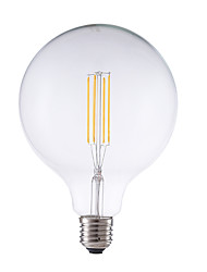 Недорогие -GMY® 1шт 4 W LED лампы накаливания 450 lm E26 / E27 G125 4 Светодиодные бусины COB Декоративная Тёплый белый 220-240 V / 1 шт. / RoHs