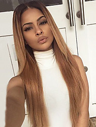 cheap -ombre t1b 27 color human hair lace wigs silky straight hair 130 density brazilian virgin hair full lace wigs for black woman