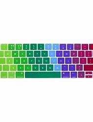 Недорогие -xskn® европейский английский красочный кожа силиконовая клавиатура и сенсорной панели протектор для 2016 года нового Macbook Pro 13,3 /