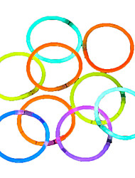 cheap -100pcs Glow Light Sticks Party Colored Glowstick Fluorescence Rings