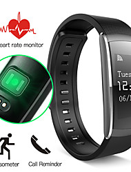 cheap -Smart Bracelet Smartwatch iOS / Android Water Resistant / Waterproof / Touch Screen / Heart Rate Monitor Gravity Sensor / Proximity Sensor / Heart Rate Sensor Stainless Steel / ABS Black / Green
