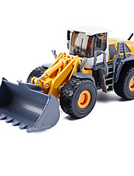 cheap -1:50 Metalic Construction Truck Set Wheel Loader Toy Truck Construction Vehicle Toy Car Excavating Machinery Unisex Boys' Girls' Kid's Car Toys / 14 years+