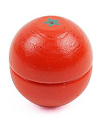 cheap -DMTC Pretend Play Play Kitchen Tomato Vegetables Fruit Magnetic DIY Plastic Kid's Toy Gift