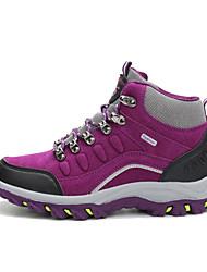 cheap -Women's Mountaineer Shoes Hiking Boots Thermal / Warm Anti-Slip Wearproof Comfortable High-Top Hiking Climbing Cross-Country Purple Fuchsia Blue Grey