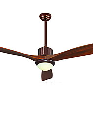 cheap -Ecolight™ Ceiling Fan Ambient Light Wood Wood / Bamboo Acrylic LED 220-240V White LED Light Source Included / LED Integrated