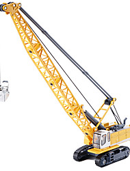 Недорогие -Игрушечные машинки Башня Экскаватор Металлический сплав Металл для Детские Универсальные