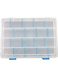 Недорогие -Коробки для рыболовных снастей Водонепроницаемый пластик 25 cm*16 см*4 cm / Коробка для рыболовной снасти / Обычная рыбалка
