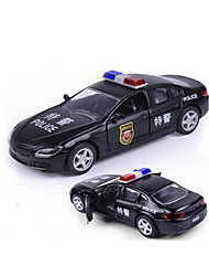 cheap -Pull Back Vehicle Police car Car Toy Gift