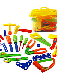 cheap -Pretend Play Toy Tool Tool Box Unisex Boys' Girls' Safety Novelty Electric Kid's