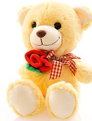 cheap -Stuffed Animal Stuffed Animal Plush Toy Bear Teddy Bear Cute Lovely Boys' Girls' Kid's Perfect Gifts Present for Kids Babies Toddler