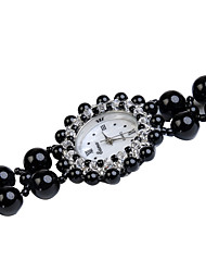 cheap -Women's Fashion Watch Quartz Jade Black Analog Black