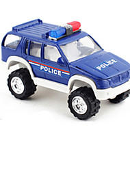 cheap -Toy Car Die-Cast Vehicle Pull Back Vehicle Construction Truck Set Police car Car Classic Unisex Boys' Toy Gift