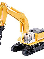 Недорогие -Игрушечные машинки Экскаватор Металлический сплав Металл для Детские Универсальные