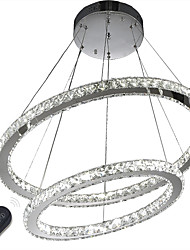 cheap -Pendant Light Ambient Light Electroplated Metal Crystal, Dimmable, LED 110-120V / 220-240V LED Light Source Included / LED Integrated