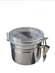 cheap -1piece-basekey-cn-small-anchor-hocking-stainless-steel-clamp-canister-set-with-clear-lid-new
