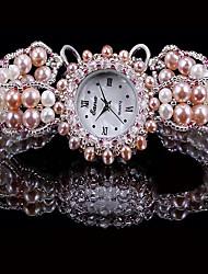 cheap -Women's Fashion Watch Quartz Analog Pink / Pearl