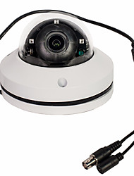 cheap -CCTV 1080P 2.1MP PAL / NTSC CMOS IR Mini PTZ Dome Camera AHD/CVI/TVI/CVBS 3x Zoom 2.8-8mm Lens IP66 Waterproof Day / Night Vision for Warehouse / Store / Office / Street / School