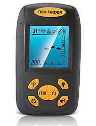 cheap -Fish Finder LCD 0.6-100 m Waterproof LED None Wireless 4×AAA Other