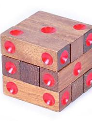 abordables -Puzzles en bois IQ Casse-Tête Cadenas Amusement Test de QI Classique Unisexe Jouet Cadeau