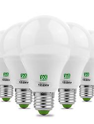 abordables -ywxlight® économie d'énergie e27 / e26 5730smd 7watts 14led blanc chaud blanc froid blanc super haute luminosité led ampoule 12v 12-24v